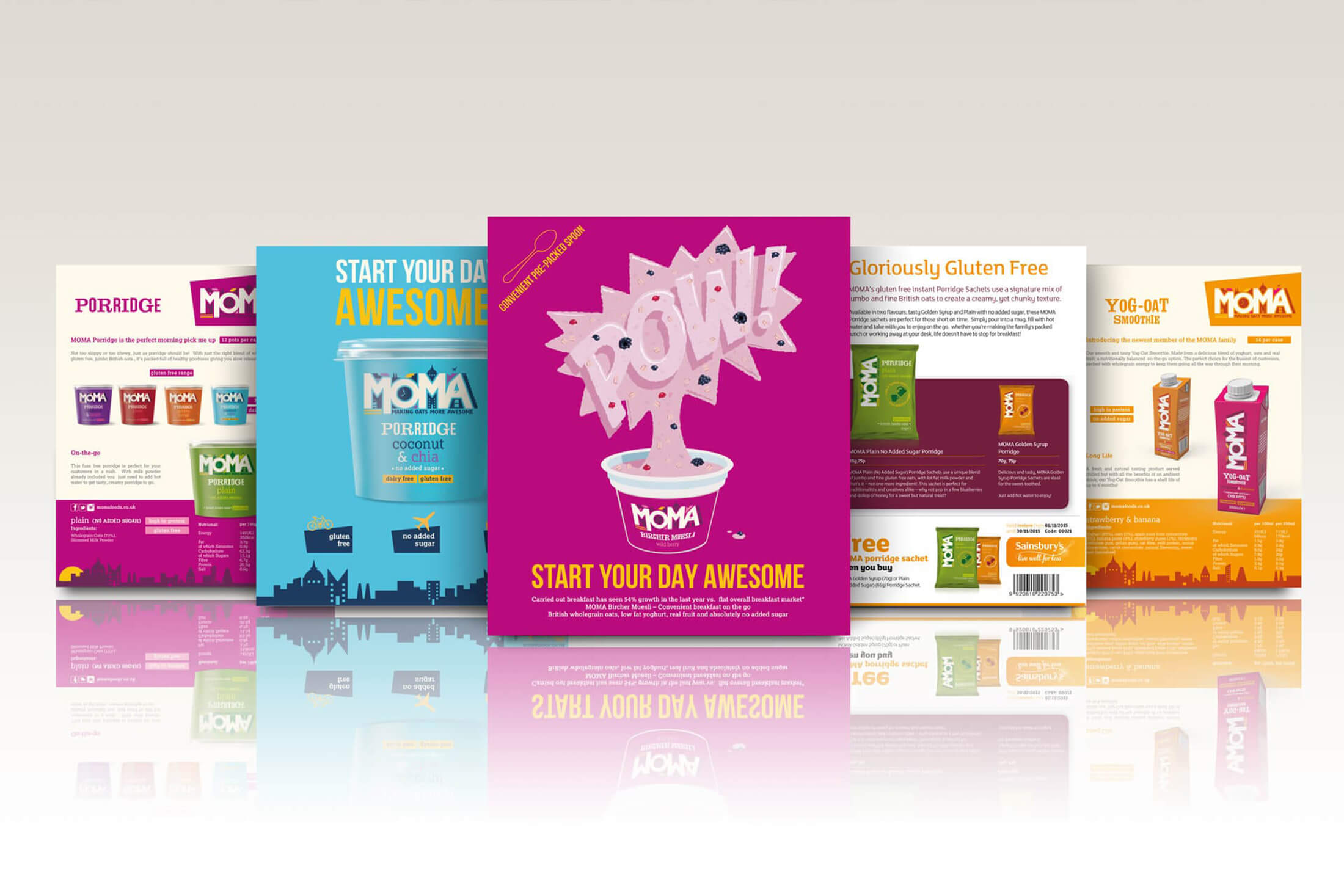 POS and Promotional Design Flyers and Leaflets